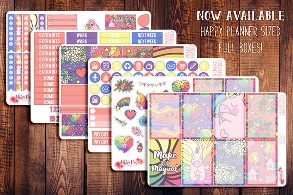 Make Today Magic Planner Sticker Kit SP001