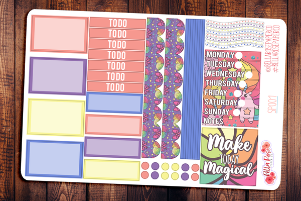 Make Today Magic Mini Happy Planner Sticker Kit SP001