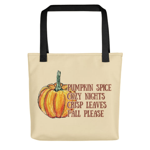 Fall Please Tote Bag