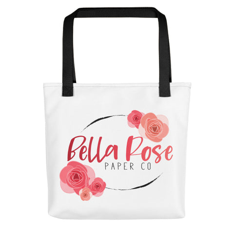 Bella Rose Paper Co Logo Tote Bag