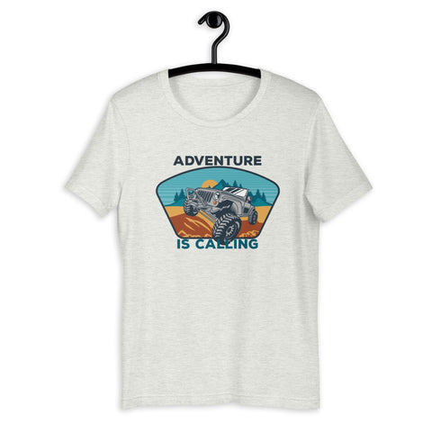 Adventure Is Calling Short-Sleeve T-Shirt