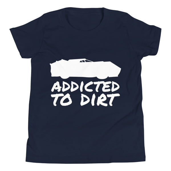 Addicted to Dirt Youth Short Sleeve T-Shirt