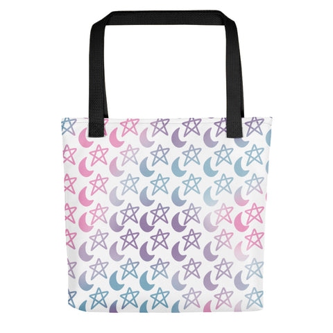 Stars and Moons Tote bag