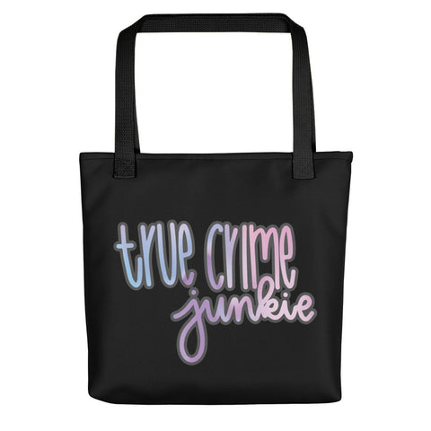 True Crime Junkie Tote bag