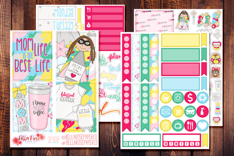 Mom Life Mini Sticker Kit SP309