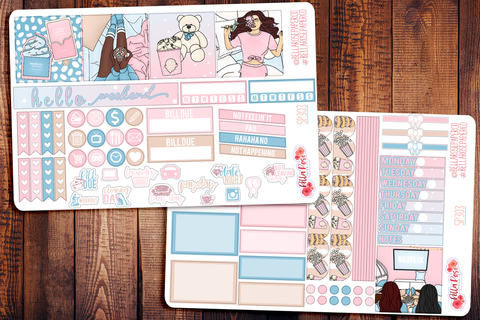 Girls Night Mini Happy Planner Sticker Kit SP303