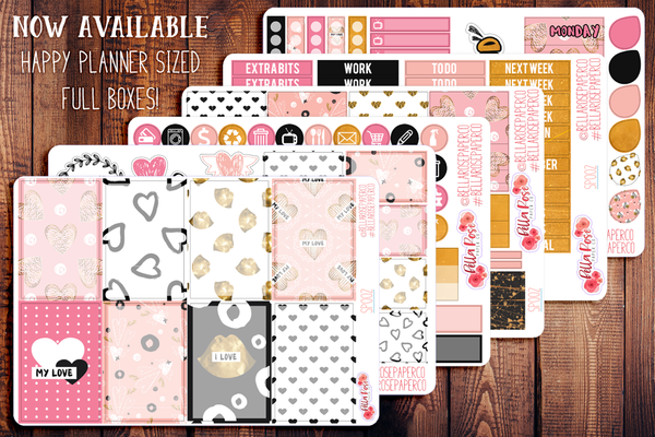 My Love Valentine's Day Planner Sticker Kit SP002