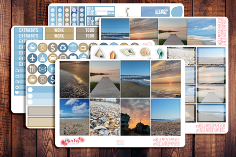 Outer Banks Photo Planner Sticker Kit SM302