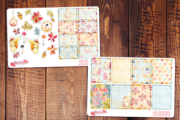 Oh Fall Planner Sticker Kit F001