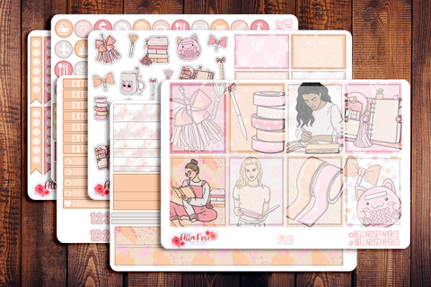 Planner Peach Planner Sticker Kit SM018