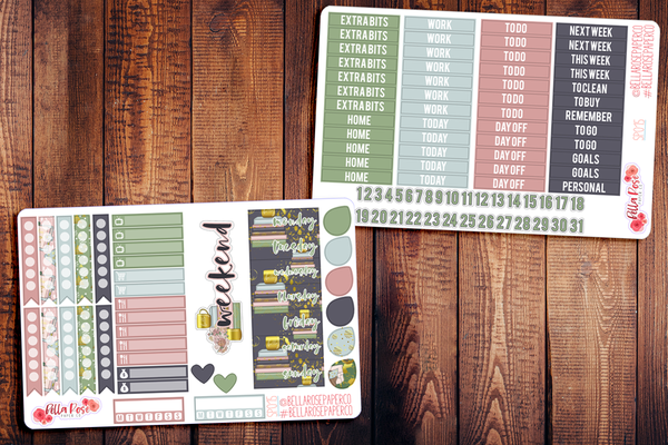 Planner Girl Planner Sticker Kit SP015