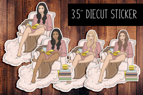 Planner Girl Diecut Sticker