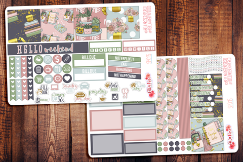 Planner Girl Mini Happy Planner Sticker Kit SP015