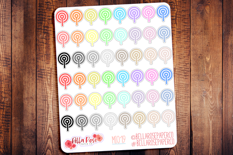 Podcast Mini Icon Planner Stickers MI019