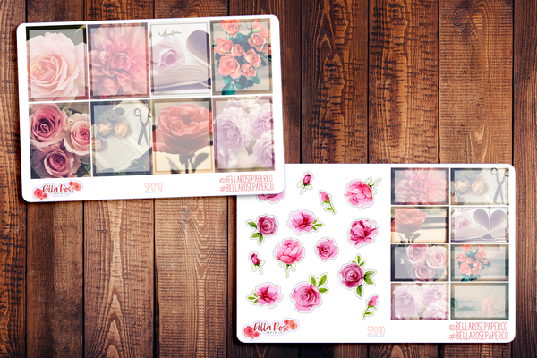 Rose Photography Planner Sticker Kit SP010