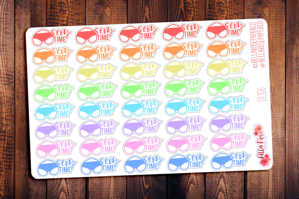 Sexy Time Planner Stickers DI106