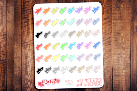 Sneaker Mini Icon Planner Stickers MI022