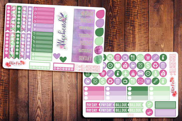 Spring In The Air Planner Sticker Kit SP008