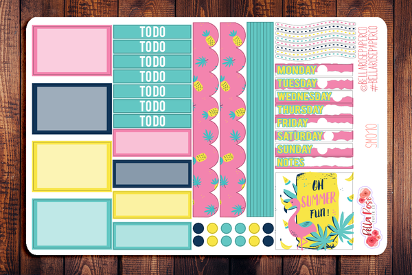Summer Vibes Mini Happy Planner Sticker Kit SM010