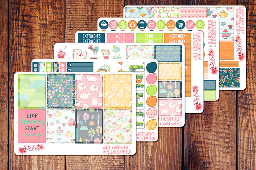 Sweet Summer Planner Sticker Kit