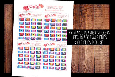 Animal Crossing Switch Planner Stickers | PRINTABLE PLANNER STICKERS