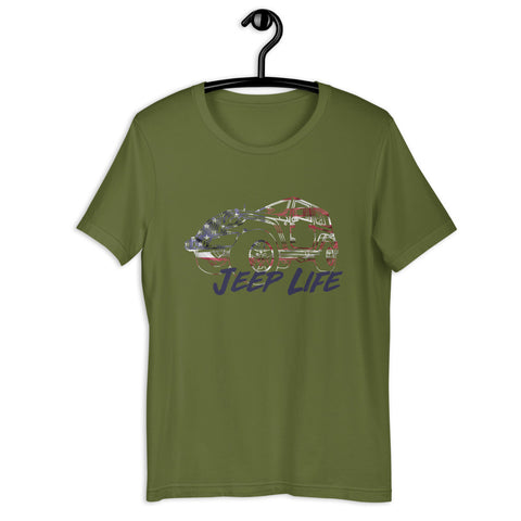 Jeep Life USA T-Shirt
