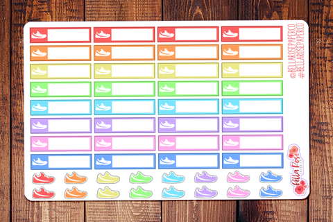 Walk Label Planner Stickers