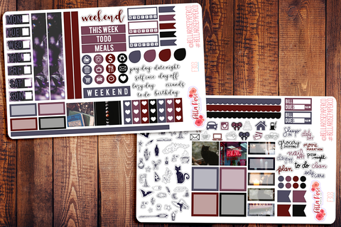 Witchy Vibes Hobonichi Weeks Sticker Kit F303
