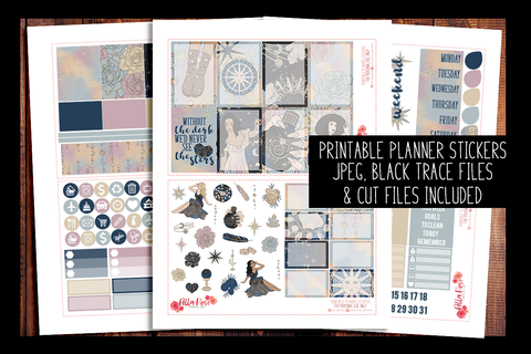 See The Stars Happy Planner Kit | PRINTABLE PLANNER STICKERS