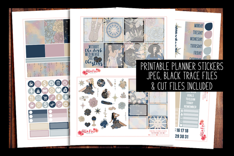 See The Stars Planner Kit | PRINTABLE PLANNER STICKERS
