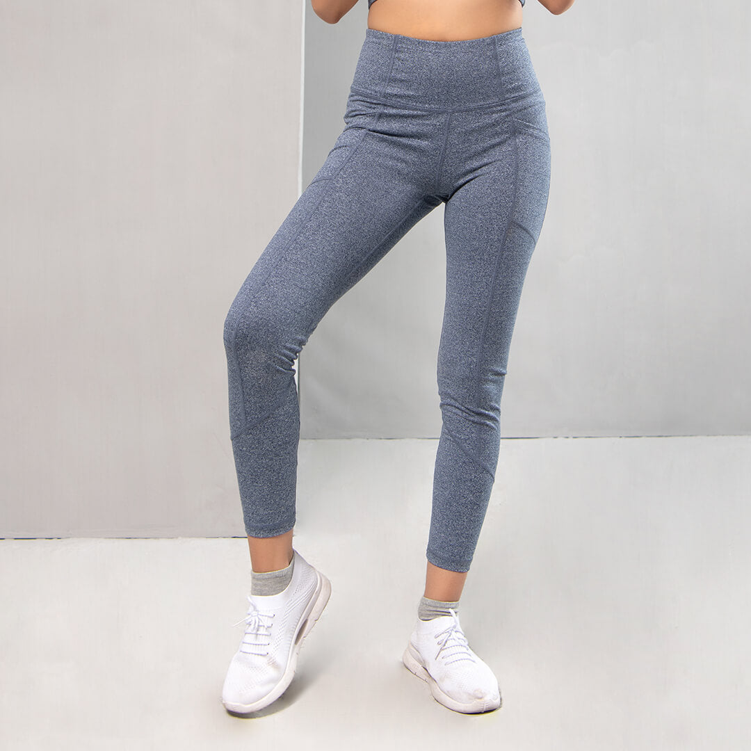 Vital Leggings - Textured Charcoal