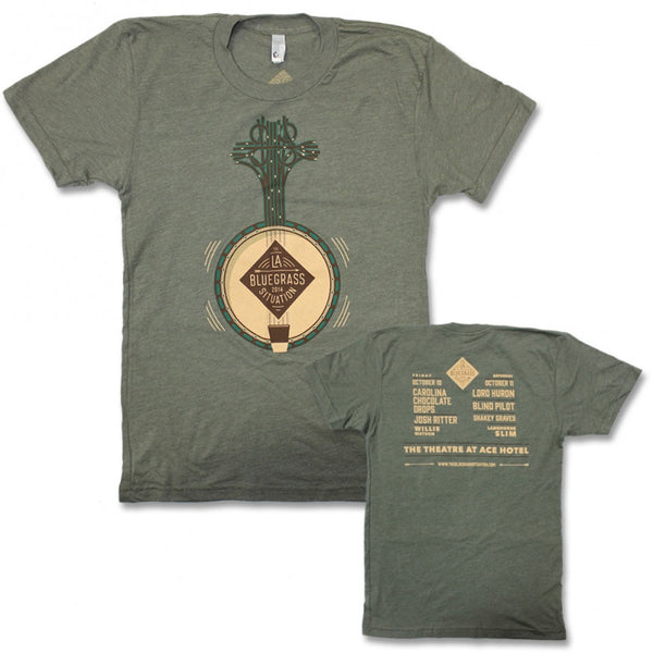 THE BLUEGRASS SITUATION 2014 FESTIVAL TEE