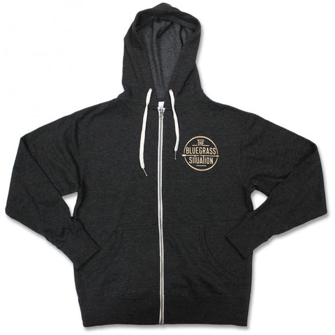 THE BLUEGRASS SITUATION CLASSIC LOGO ZIP HOODIE