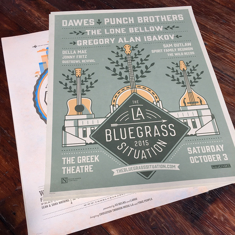 THE BLUEGRASS SITUATION FESTIVAL PRINT PACK