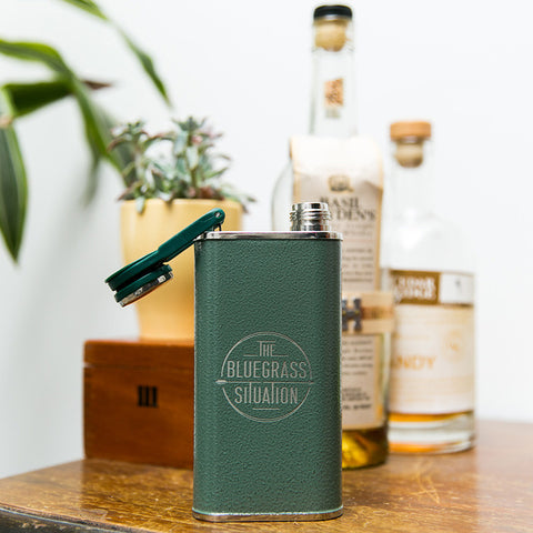 THE BLUEGRASS SITUATION CLASSIC FLASK