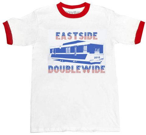 Eastside Doublewide at SXSW 2018 -- limited edition ringer tee