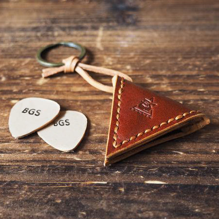 BGS Leather Pickholder Keychain