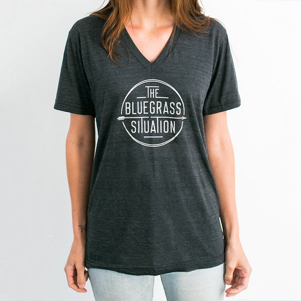 THE BLUEGRASS SITUATION CLASSIC LOGO V-NECK TEE