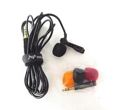 Pop Voice PV610+ Lavalier Microphone