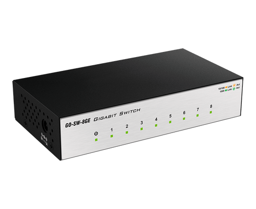 D-Link 8-Port Gigabit Metal Desktop Switch GO-SW-8GE