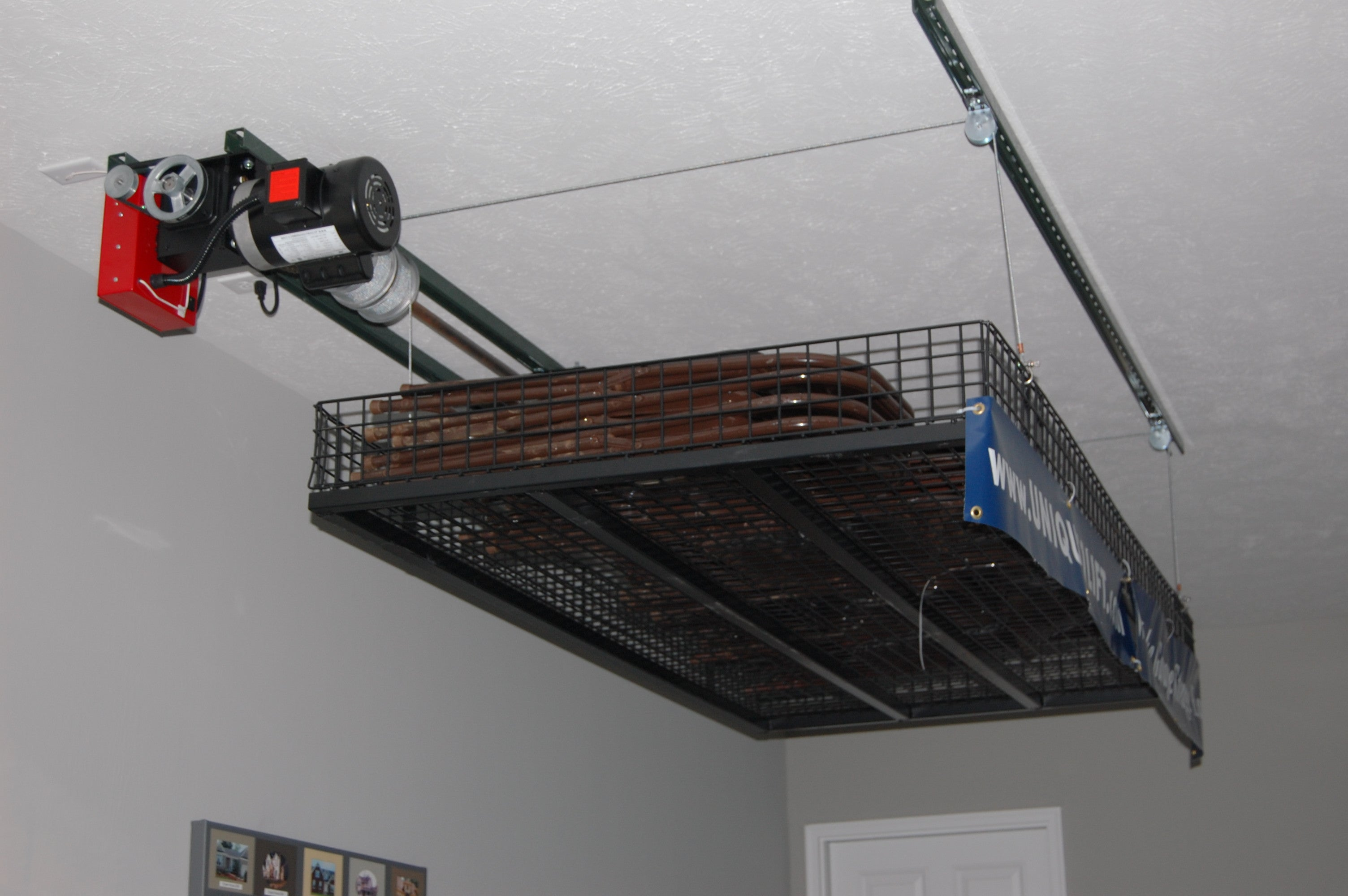 ceiling storage lift systems taraba home review