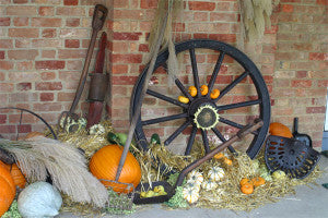 antique fall decorations
