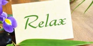 relax sign