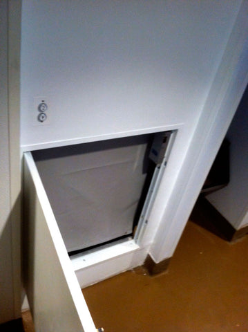commercial dumbwaiter door