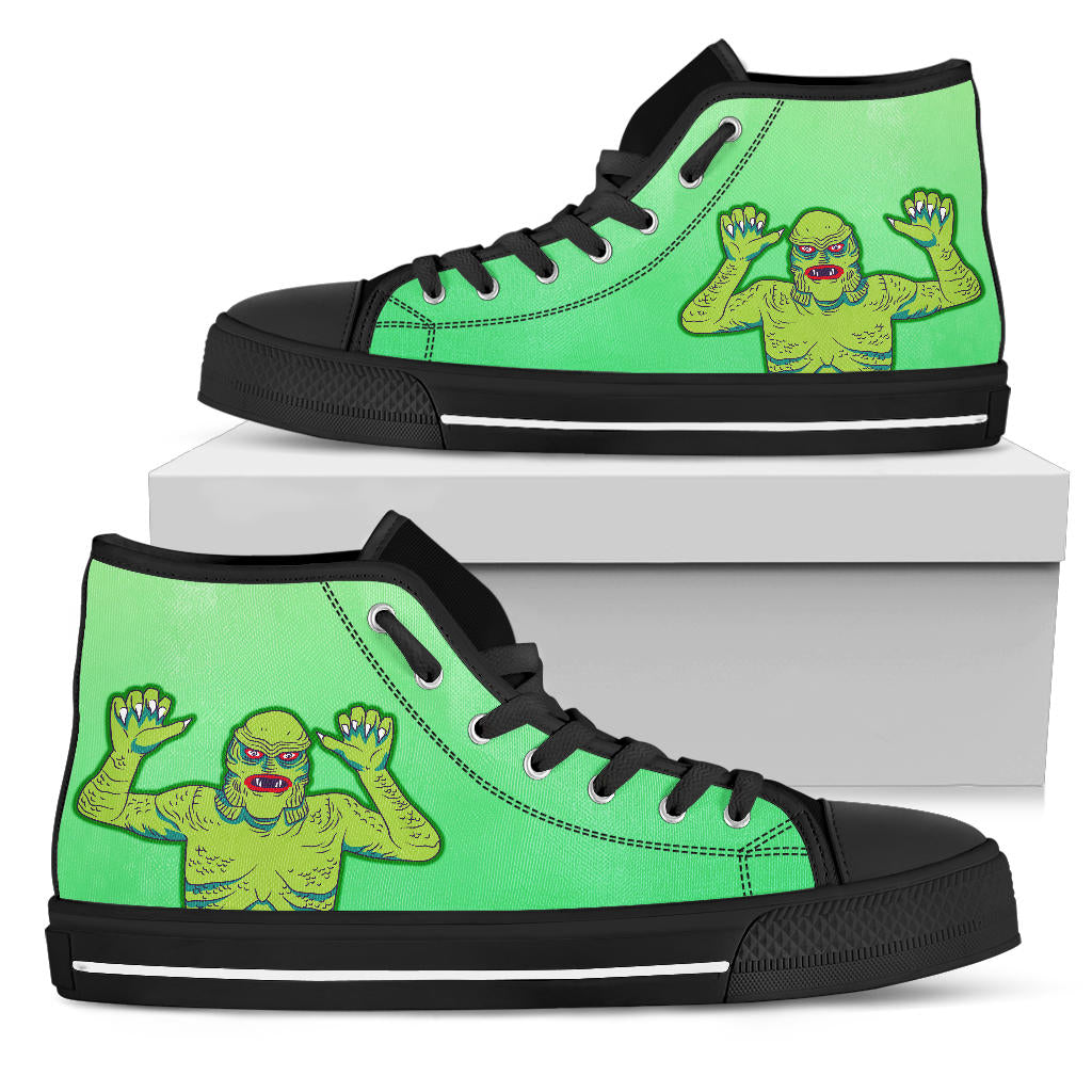 horror, sneakers, shoes, creature, monster, movies, universal