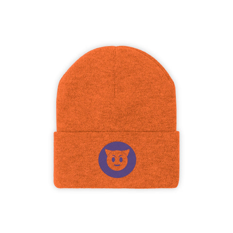 beanie, hat, emoji, devil, scary, good, scary basement media