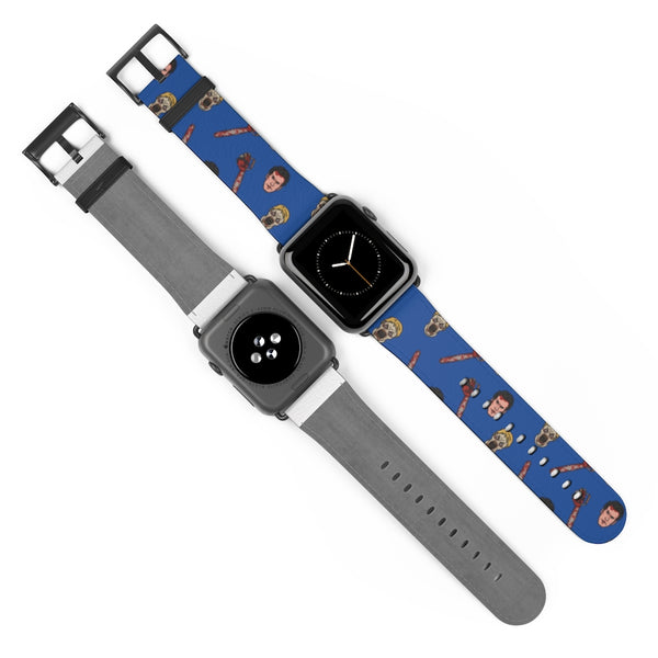 Hail to the Chainsaw Watch Band