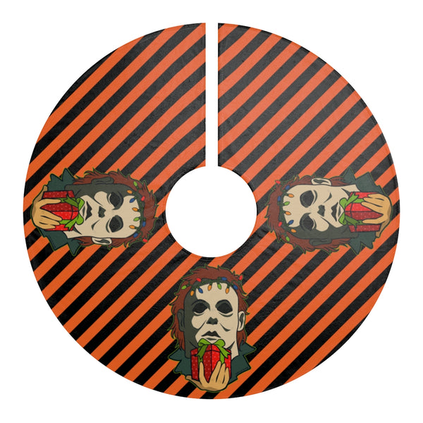 Boogeyman Seasonal Slashers Christmas Tree Skirt
