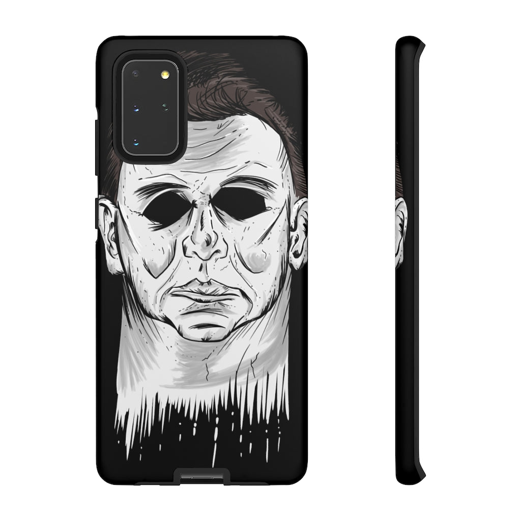 Halloween, movie, cell phone, case, michael myers