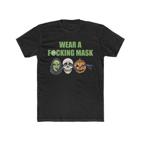 The Witching Season Wear A F*cking Mask Men's Crew Tee